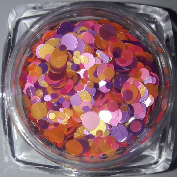 Rainbow konfetti #08