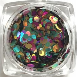 Rainbow konfetti #10