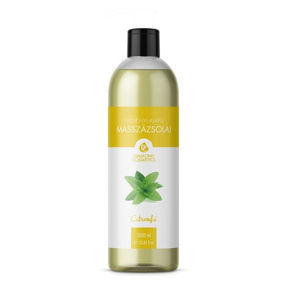 Aloe Vera-Citromfű Masszázsolaj 1 liter