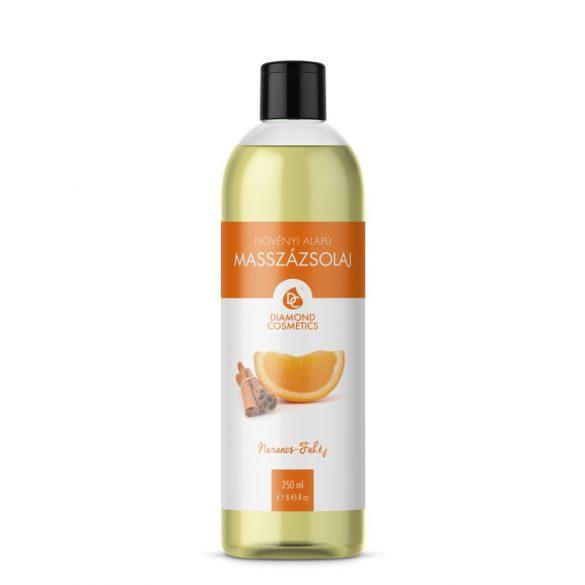 Narancs-Fahéj Illatú Masszázsolaj 250ml