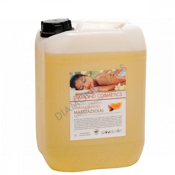 Narancs-Fahéj Illatú Masszázsolaj 5 liter