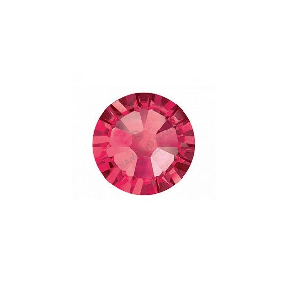 Swarovski SS10 méretű indian pink kerek kristály 100db