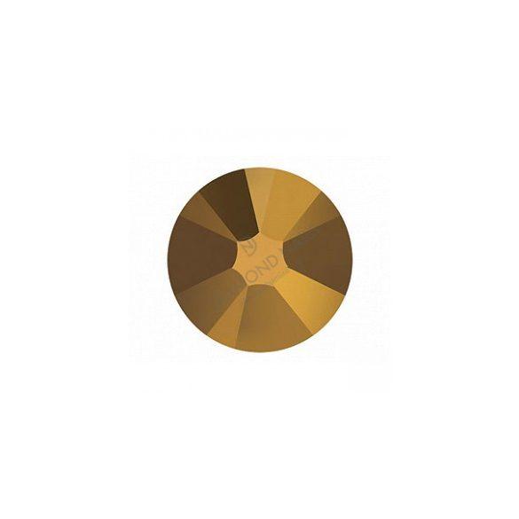Swarovski SS10 méretű dorado kerek kristály 100db