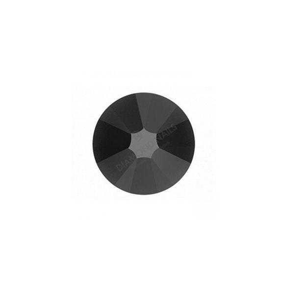 Swarovski fekete SS3 kristály 100db