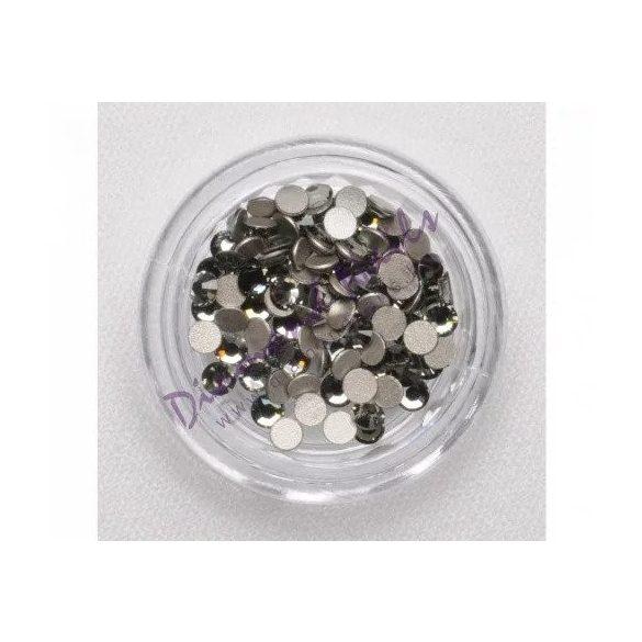 Swarovski grafit SS3 kristály 100db