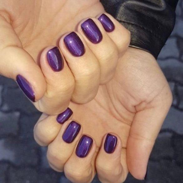 Gél Lakk - DN247 - Irresistible Violet - Zselé lakk