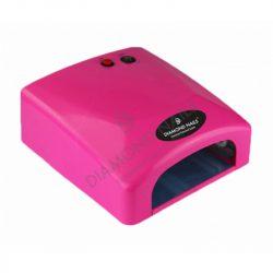 36 wattos, időkapcsolós  UV lámpa - Pink