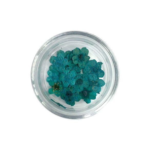 Szárított virág - kék