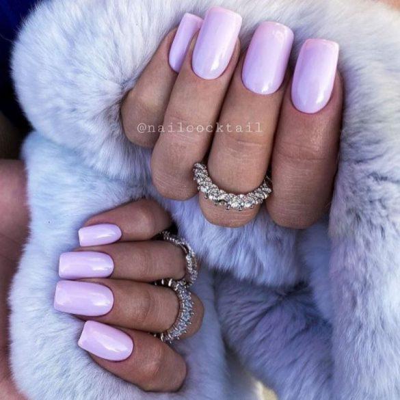 Gél Lakk 4ml -DN270 - Pale Lilac - Zselé Lakk