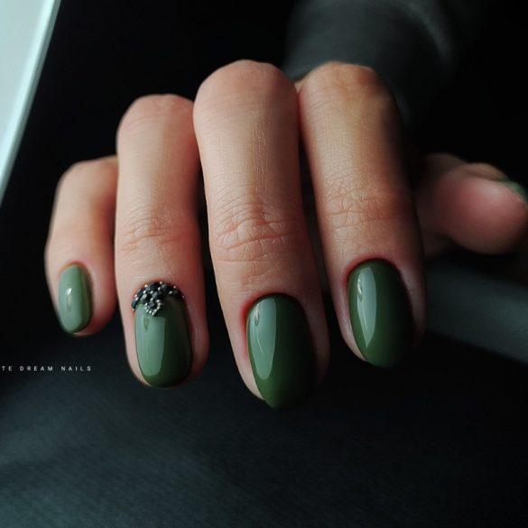 Gél Lakk - DN276 - Military Green - Zselé lakk
