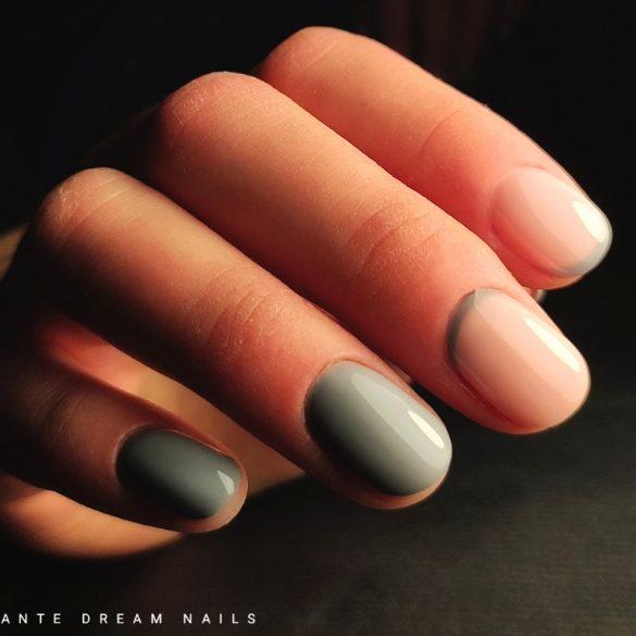 Gél Lakk - DN282 - Pastel Grey - Zselé lakk