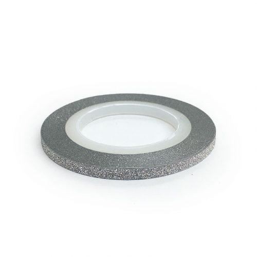Díszítő csík - matt ezüst (3 mm)