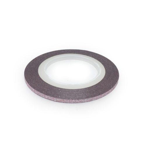 Díszítő csík - matt halvány rózsaszín (2mm)