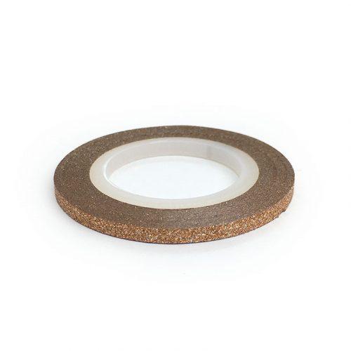 Díszítő csík - matt Rosegold (3mm)