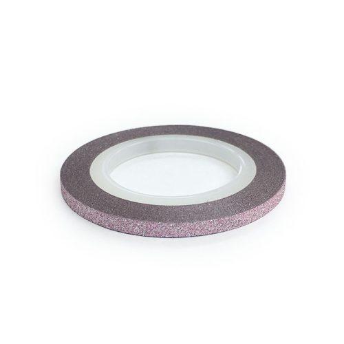 Díszítő csík - matt halvány rózsaszín (3mm)