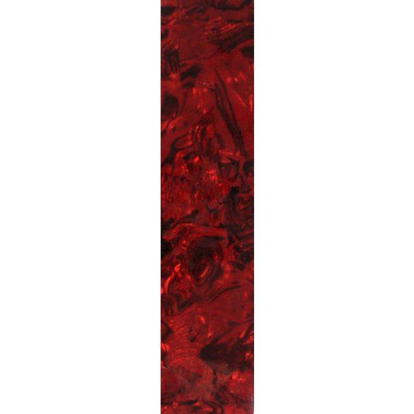 Kagyló lap - piros