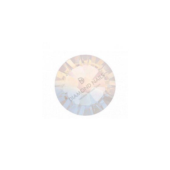 Swarovski SS10 méretű fehér opal strasszkő 50db