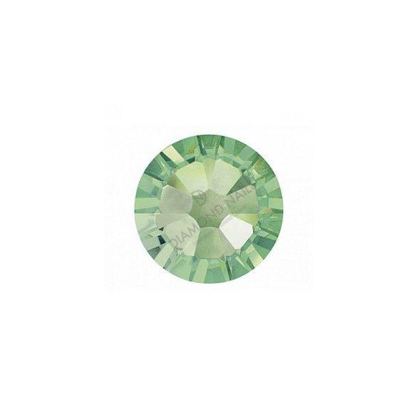 Swarovski  SS10 méretű chrysolite kerek kristály 100db