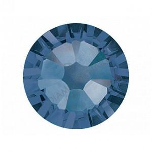 Swarovski montana kék kerek kristály SS5  100db