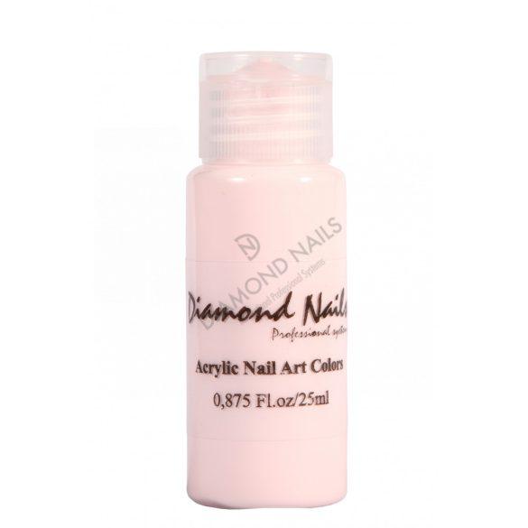 Halvány rózsaszín akril festék 004