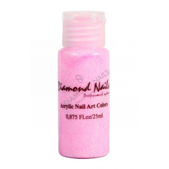 Szivárvány rózsaszín akril festék 045