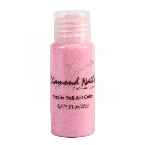 Csillám rózsaszín akril festék 051