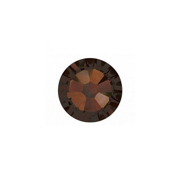 Swarovski mocca kerek kristály  SS5 100db