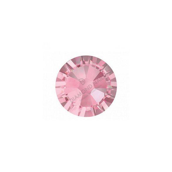 Swarovski SS3  h.rózsaszín kerek kristály 100db