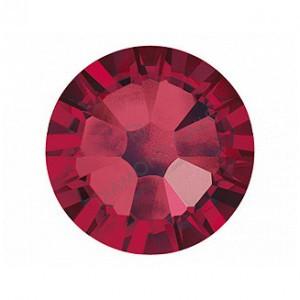Swarovski ruby kerek kristály  SS5 100db