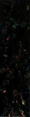 Kagyló lap - fekete