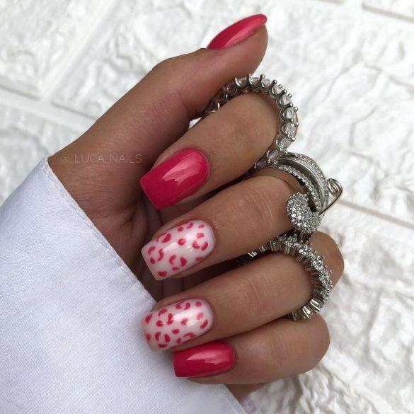 Gél Lakk - DN021 - Rózsaszín - Zselé lakk
