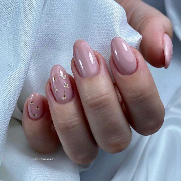Gél Lakk 4ml -DN033 - Világos rózsaszín - Zselé lakk