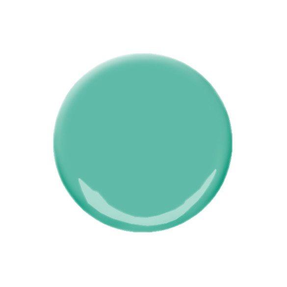 Vízhatású zöld színes zselé 058