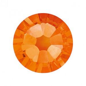 Swarovski narancs kerek kristály  SS5 100db