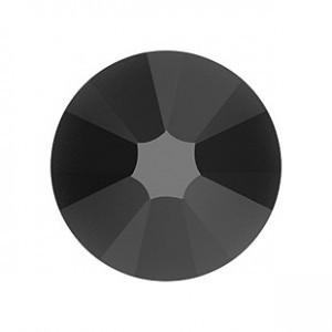 Swarovski fekete kerek kristály  SS5 20 db