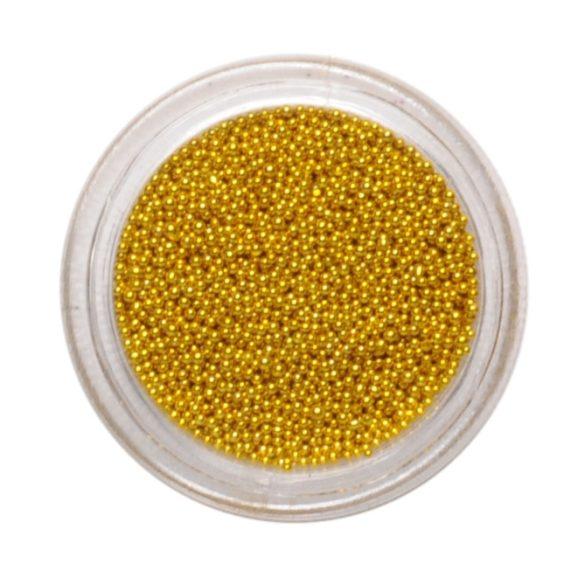Arany díszítő golyó