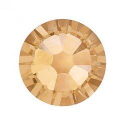 Swarovski   SS10  méretű arany kerek kristály 100db