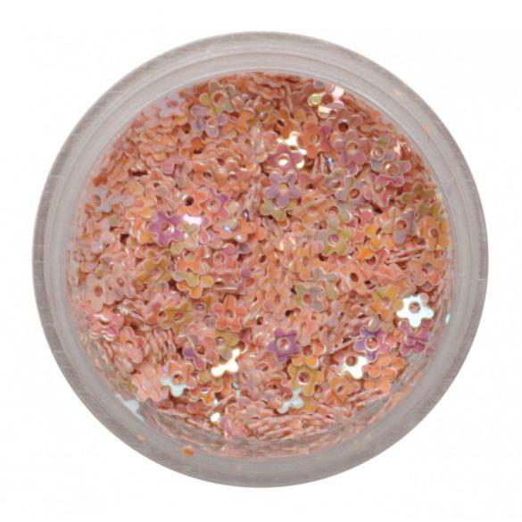 Műanyag kisvirág bézs