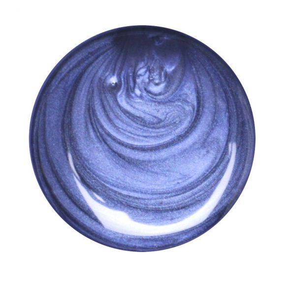 Metál kék színes zselé 026