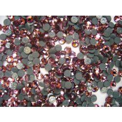 Világos Rózsaszín swarovski kő 50db (vasalható)