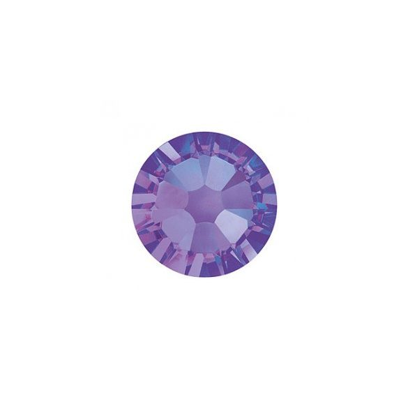 Swarovski   SS10  méretű k.lila kerek kristály 100db