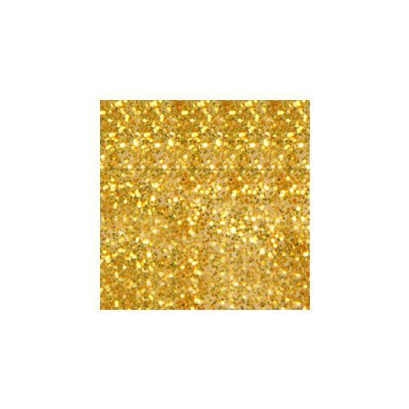 Színes porcelánpor - Arany csillám