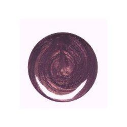 Gyöngyház mély lila színes zselé 034