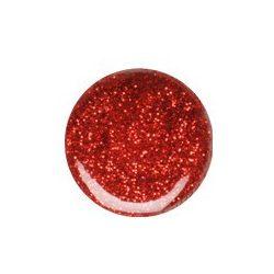 Piros csillám zselé 070
