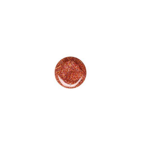 Bronz hologram csillám zselé 071