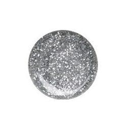 Ezüst csillám zselé 077