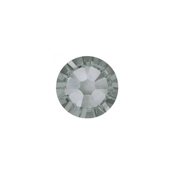 Swarovski   SS10  méretű grafit kerek kristály 100db