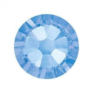 Swarovski   SS10  méretű v.kék kerek kristály 100db