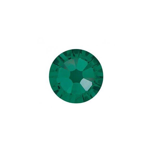 Swarovski   SS10  méretű sötétzöld kristály 100db