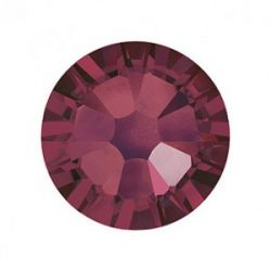 Swarovski   SS10  méretű burgundi kerek kristály 100db